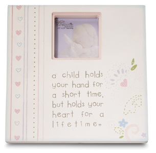 "Hold Your Hand by Cutie Patootie - 7"" Photo Frame Plaque"