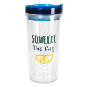 Squeeze the Day by Livin' on the Wedge - 16oz Water Bottle