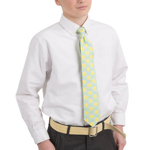 Main Squeeze- Light Blue by Livin' on the Wedge - Youth Classic Silk Tie