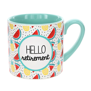 Hello Retirement by Livin' on the Wedge - 15 oz Mug