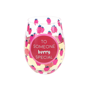 Someone Special by Livin' on the Wedge - 18 oz Stemless Wine Glass