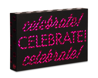 "Celebrate by Hiccup - 6"" x 4"" Plaque"
