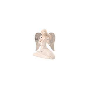 "July Birthstone Angel by Little Things Mean A Lot - 3.5"" July Angel w/ Ruby Butterfly"