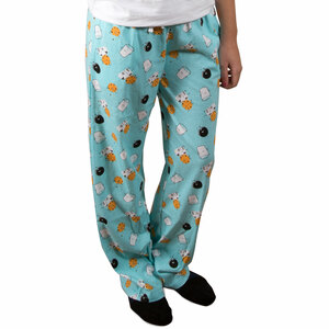 Cookies and Milk by Late Night Snacks - XS Light Blue Unisex Lounge Pants