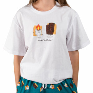 S'mores by Late Night Snacks - L Unisex T-Shirt