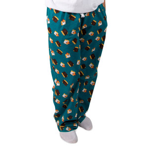 S'mores by Late Night Snacks - XS Teal Unisex Lounge Pants