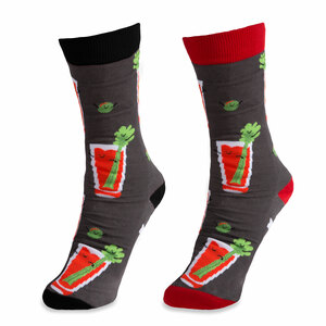 Bloody Mary by Late Night Last Call - S/M Unisex Socks