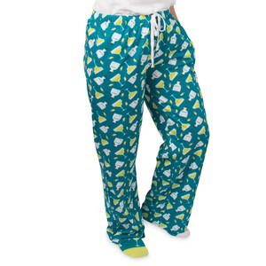 Margarita  by Late Night Last Call - XS Teal Unisex Lounge Pants