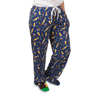 Beer by Late Night Last Call - XS Blue Unisex Lounge Pants