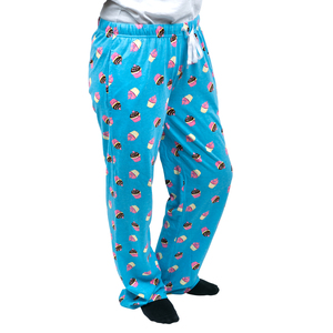 Cupcakes by Late Night Snacks - 2XL Light Blue Unisex Lounge Pants