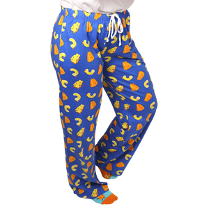 Mac & Cheese by Late Night Snacks - XS Blue Unisex Lounge Pants