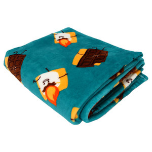 "S'mores by Late Night Snacks - 50"" x 60"" Royal Plush Blanket with Drawstring Bag"