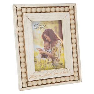 "Love by Blessed by You - 7.25"" x 9.25"" Frame (Holds 4"" x 6"" Photo)"
