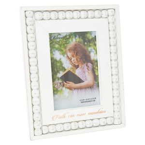 "Faith by Blessed by You - 7.25"" x 9.25"" Frame (Holds 4"" x 6"" Photo)"