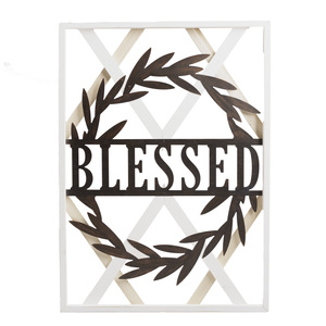 "Blessed by Blessed by You - 22.5"" x 31.5"" Wall Plaque"