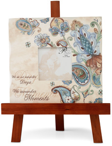 "Moments by Perfectly Paisley - 10""x10"" Wooden Frame w/E"