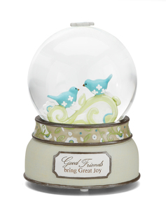 Good Friends by Perfectly Paisley - Musical Water Globe