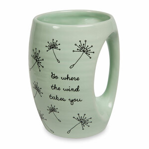 Wind Takes You by Dandelion Wishes - 16oz. Mug
