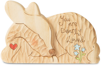 "Dearly Loved by Heavenly Woods - 3.25"" Deer"