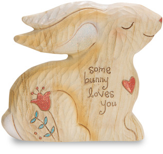 "Some Bunny Loves You by Heavenly Woods - 3.5"" Bunny"