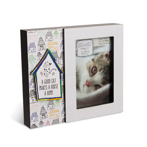 "Good Cat by It's Cats and Dogs - 8.5"" x 7.5"" Frame (Holds 6"" x 4"" Photo)"