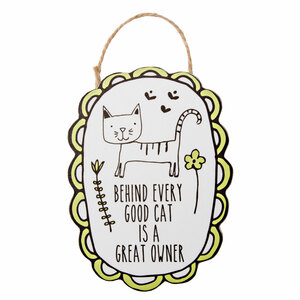 "Cat Owner by It's Cats and Dogs - 4"" Ornament with Magnet"