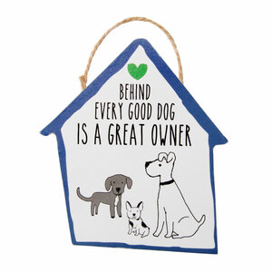 "Dog Owner by It's Cats and Dogs - 4"" Ornament with Magnet"