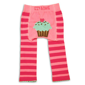 Pink Cupcake by Izzy & Owie - 12-24 Month Baby Leggings