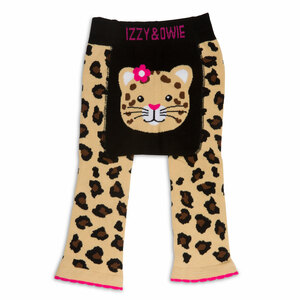 Jungle Cat by Izzy & Owie - 6-12 Months Baby Leggings