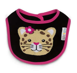 Jungle Cat by Izzy & Owie -  Baby Bib