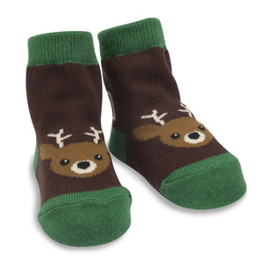 Camouflage Deer by Izzy & Owie - 0-12 Socks