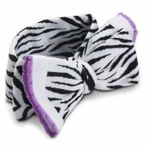 Purple Zebra by Izzy & Owie - Knitted Headband