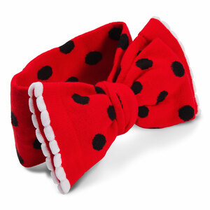 Red and Black Ladybug by Izzy & Owie - Knitted Headband