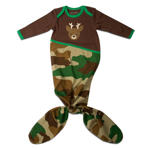 Camouflage Deer by Izzy & Owie - 0-9 Months Knotted Onesie