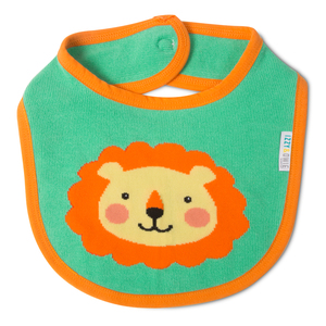 Safari Lion by Izzy & Owie - Baby Bib