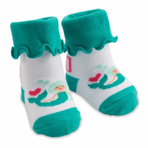 Mermaid by Izzy & Owie - 0-12 Months Socks