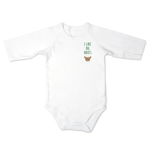 Deer by Izzy & Owie - 12-24 Months 3/4 Length Sleeve Onesie