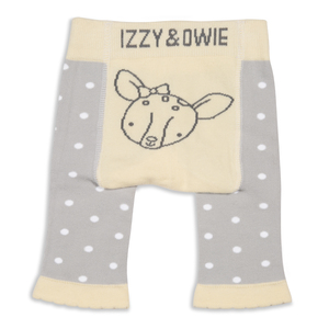 Soft Yellow Deer by Izzy & Owie - 0-6 Months Baby Leggings