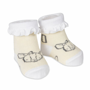 Soft Yellow Deer by Izzy & Owie - 0-3 Months Socks