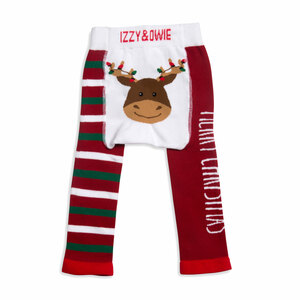 Merry Christmas by Izzy & Owie - 6-12 Months Baby Leggings