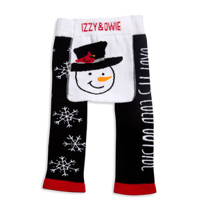 Baby It's Cold Outside by Izzy & Owie - 6-12 Months Baby Leggings