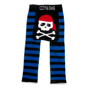 Happy Pirate by Izzy & Owie - 6-12 Months Baby Leggings
