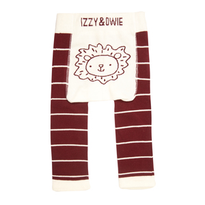 Lion by Izzy & Owie - 6-12 Months Baby Leggings