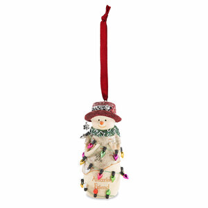 "Amazing Friend by The Birchhearts - 4"" Snowman Ornament"