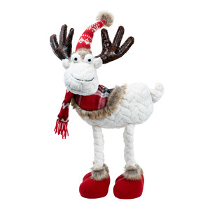 "Bucky Bill by WarmHearts - 18"" Standing Moose"