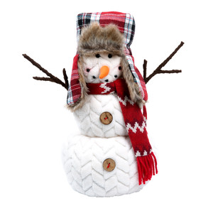 "Jolly Jim by WarmHearts - 14"" Snowman"