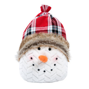 "Frozen Phil by WarmHearts - 12"" Snowman Door stopper"