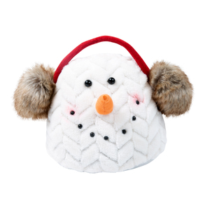 "Snuggly Susan by WarmHearts - 6.5"" Snowman Door stopper"