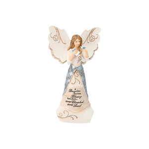 "Daughter by Elements - 6"" Angel Holding Butterflies"