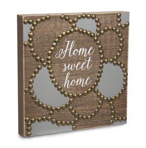 "Home by Emmaline - 8""  Plaque"